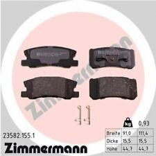 1x Bremsbelagsatz  Scheibenbremse ZIMMERMANN 23582.155.1