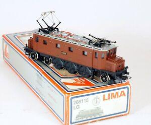 Lima H0 208118 LG Ae 3/6 10698 type 1C2 des SBB CFF FFS DC 12v Etat neuf OVP