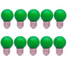 10x E27 Farbig Glühlampen Lampe Bunt Birne  Dekoration Party Leuchtmittel Grün