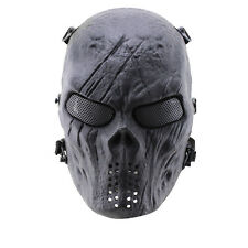 CS Army Airsoft  Paintball Cosplay Mask Halloween  Face Protection Mask Bid