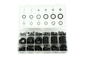 279 pc rubber metric o-ring kit w/ 18 sizes for automotive,industrial, plumbing