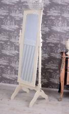 Espejo de pie blanco Tocador Con shabby chic ORIENTABLE madera