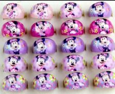 10 Childs Rings Mickey & Minnie Disney. Party Bag Fillers. Xmas Stocking