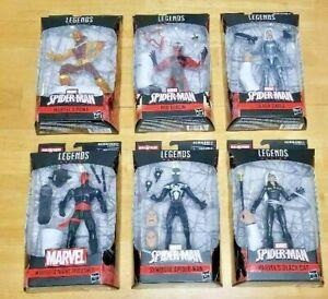Marvel Legends ~ SPIDERMAN ~ BAF  KINGPIN ~ Set of 6 ~