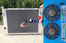 FOR HOLDEN COMMODORE VB VC VH VK V8 1979-1986 MT Aluminum Radiator + 2* FANS