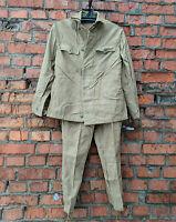 Uniform Soldier Army Jacket Pants USSR 100% Cotton Sizes:M, L   New Stock 80s'
