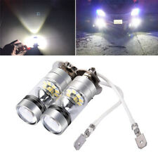 2PCS H3 LED Fog Light Bulb 100W CREE Chips Car Driving Lamp DC12/24V 6000K Grade