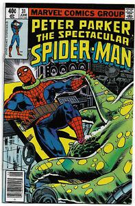 SPECTACULAR SPIDER-MAN#31 VF/NM 1979 MARVEL BRONZE AGE COMICS