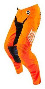 Troy Lee Designs Youth Pants GP Air Star Org/Blk TLD Motocross Mx Enduro Quad