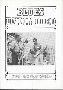 BLUES UNLIMITED : No.92 : June 1972 : John Littlejohn & Mack Simmons