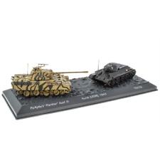 World of Tanks LV01 Pz.Kpfw.V Panther vs T34/76 Battle of Kursk 1943 1:72 Scale
