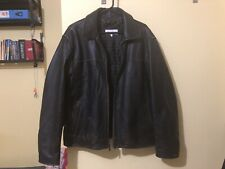 Calvin Klein Men's Leather Jacket M