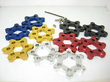 Preload adjusters14mm A/F suit Yamaha R1 all years & R6 2008 on. Made in AUS