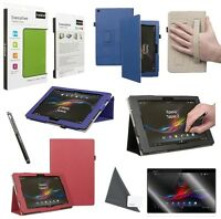 Juppa Premium Multi Function Leather Stand Case Cover for Sony Xperia Tablet Z