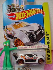 Case D 2014 i Team Hot Wheels FAST 4WD #110∞White/Gray; 29;Orange 10sp∞Off-Road