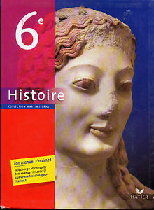 Histoire Collection Martin Ivernel (History Book for French Schools)