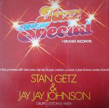 "33 giri JAZZ SPECIAL I GRANDI INCONTRI - STAN GETZ & JAY JAY JOHNSON  12"" LP"