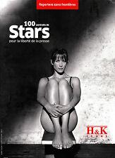 Reporters Sans Frontieres #29 12/2008 100 Portraits de STARS par H&K @Brand New@