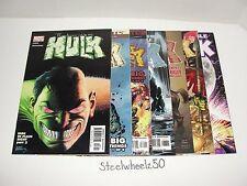 Incredible Hulk 7 Comic Lot Marvel 2004 #56 71 74 77 81 83 90 Iron Man House M
