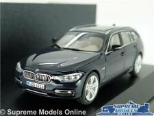 BMW 3 SERIES TOURING ESTATE MODEL CAR 1:43 SCALE BLUE HERPA SPECIAL ISSUE K8