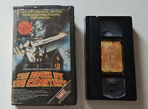 House by the Cemetery Pre Cert VHS Ex-Rental Big box Vampix