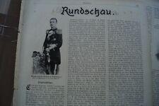 1898 Rundschau 189 Friedrich Wilhelm zu Mecklenburg Zaimis Schmoller Wattenbach