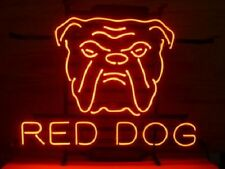 """New Red Dog Beer Neon Sign 17""""x14"""""""