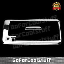 For Chevy 2003-15 Express GMC Savana Chrome Tailgate Handle Cover W/ Key Cam