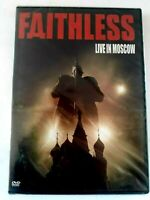 Faithless Live In Moscow DVD 2008 Brand New Selaed