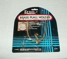 🔴 E-Z HANDY HELPERS BRASS PLATE HANGER / HOLDER NIP FREE SHIPPING