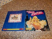 ALBUM figurine BARBIE 1984 PANINI COMPLETO ORIGINALE OTTIMO CON CEDOLA MOTTA