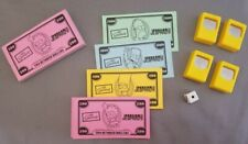 The Simpsons  Jeopardy Edition  - Parts Only -Money - Clickers - Die -FREE SHIP