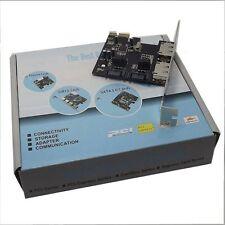 PCI-E Express SATA3 SATA3.0 6Gb/s eSATA SATA III Tarjeta