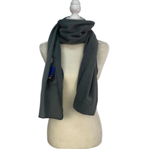 Patagonia Micro D Fleece Scarf Gray One Size