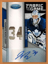 2011-12 ,PANINI ,CERTIFIED ,JAMES REIMER ,FABRIC OF THE GAME ,JERSEY ,AUTO ,/25