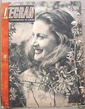 L'ECRAN hebdo du cinéma français N°47 Avril 1946