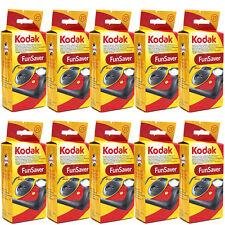 10 Kodak 35mm FunSaver Flash One-Time Use Disposable Camera ISO 800 exp 06/2019
