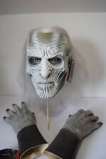 Game of Thrones WHITE WALKER MASK WITH HANDS Official Licensed