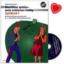 Blockflöte spielen - mein schönstes Hobby - Schott - ED22381 - 9783795709372