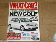 October What Car? Cars, 2000s Magazines