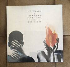 """Imagine Dragons - Limited Edition- Follow You / Cutthroat 7"""" Vinyl - SEALED"""