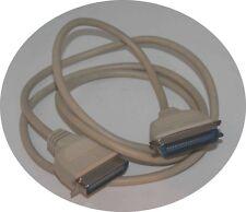 Cable para el puerto paralelo, LPT, impresoras, amiga, vintage, rara vez