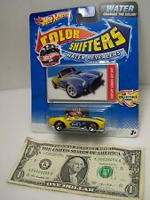 Hot Wheels Yellow Shelby Cobra 427 S/C - Color Shifters Water Revealers - 2011