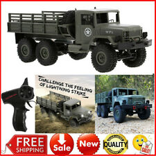 WPL RC CAR 1/16 ROCK CRAWLER OFF-ROAD 6WD MILITARY TRUCK 12KM/H RTR KID TOY X6M4