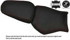 DESIGN 2 GRIP DARK RED ST CUSTOM FITS YAMAHA MT 03 06-14 FRONT + REAR SEAT COVER