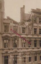 Berlin Revolution 3. - 14. März 1919 Zerstöung am Haus Palisadenstraße 7   (S33)