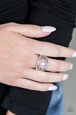Paparazzi A Big Break Pink Ring Thick Back. Free Shipping