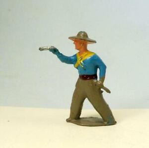 Vintage Lead 1 COWBOY * VGC * 1950s by CRESCENT - Britains Era Wild West