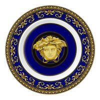 ROSENTHAL VERSACE  MEDUSA BLUE PLATE 18CM RRP$179