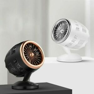 Electric Space Heater Desktop Heating Fan Home Office Indoor Heater Warm